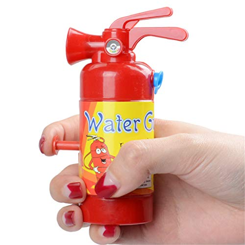 Qianqian56 Mini Brandblusser Waterpistool Speelgoed Brandweerman Kids Speelgoed Gag Joke Outdoor Zomer Strand Speelgoed