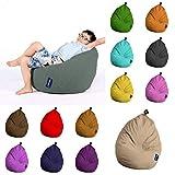 Sugarpufy Sitzsack Premium für Kinder Klein Sitzkissen im Kinderzimmer Indoor Sitzsäcke & Outdoor Bean Bag Hocker Rückenkissen mit Füllung