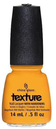 China Glaze Nail Lacquer with Hardner - Collection Texture - Tally Textured, 1 x 14 ml
