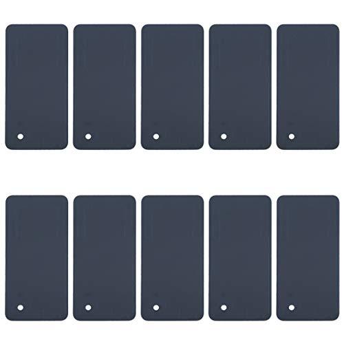 GGAOXINGGAO Cellulare Parti di Ricambio 10 PCS della Batteria alloggiamento della Copertura Posteriore Adesivi for HTC U11 Nuovo