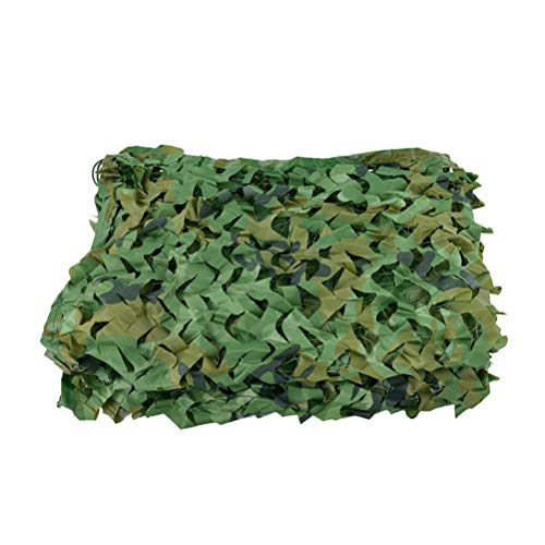 Garden Decoration Netting Camouflage Net for Ground,5m X 3m Army Camouflage Netting 8m X 4m Large Camo Netting Cover,for Garden Decoration Kids den Photography Hunting Blinds Outside Use