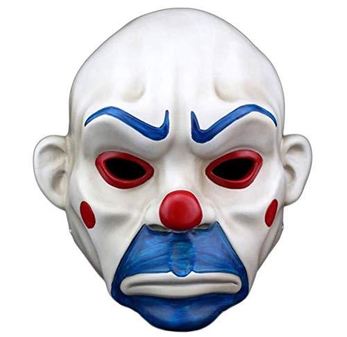 LLZK Resina Artesanía Máscara de Halloween Batman Payaso