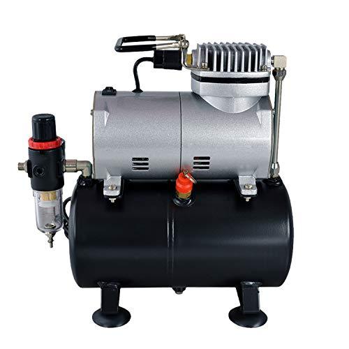 Profi-AirBrush Kompressor Universal I-mit Start/Stop-Automatik, Airbrushkompressor Leise und Energiesparend! Das optimale Standard-Gerät für alle Profis