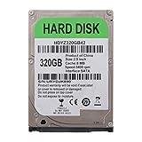 perfk HDD Disco Duro Mecánico Interno SATA 8M con Velocidad de Rotación: 5400 RPM, 2,5 '' - 320GB