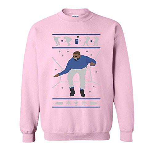 H&T Shirt Sweatshirt for Women Men Hotline Bling Drake Unisex Sweatshirts(Light Pink,XX-Large)