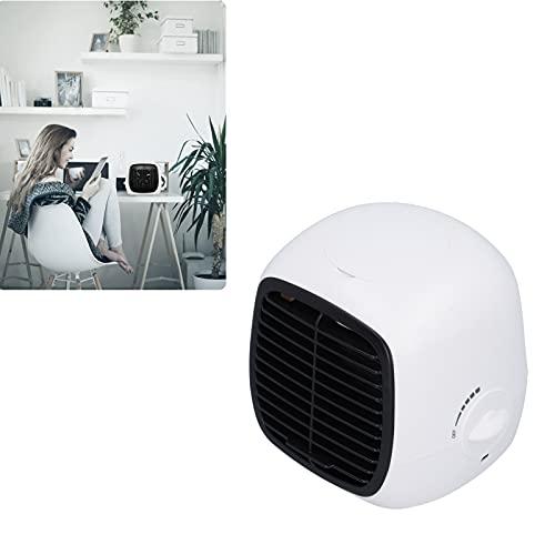 EVTSCAN Mini Ventilatore di Raffreddamento Aria Condizionatore D'aria Portatile di Umidificazione Desktop per Ufficio Casa Dormitorio