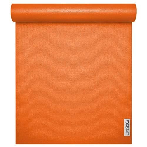 Yogistar Yogamatte yogimat® Studio - Light Shiny-orange