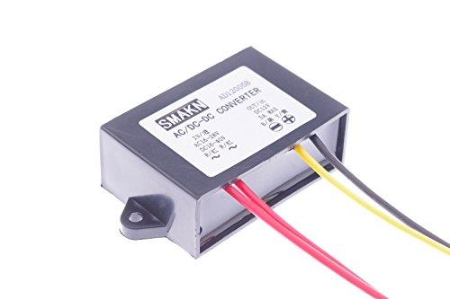 SMAKN AC/DC TO DC Converter AC 16-28V/DC 16-40V Step Down to 12V/5A Power Supply Module