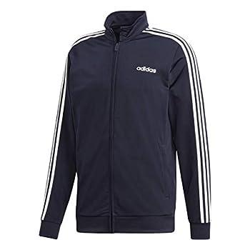 adidas Men's Essentials 3-stripes Tricot Track Jacket Legend Ink/White Large