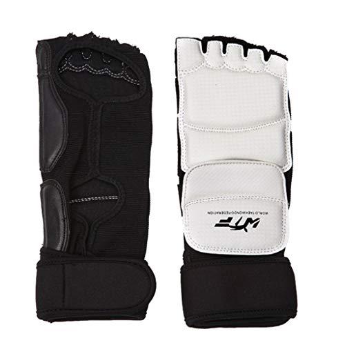 Haptian volwassen kinderen Taekwondo Sparring MMA halve vinger handschoenen hand voetbeschermer bewakers