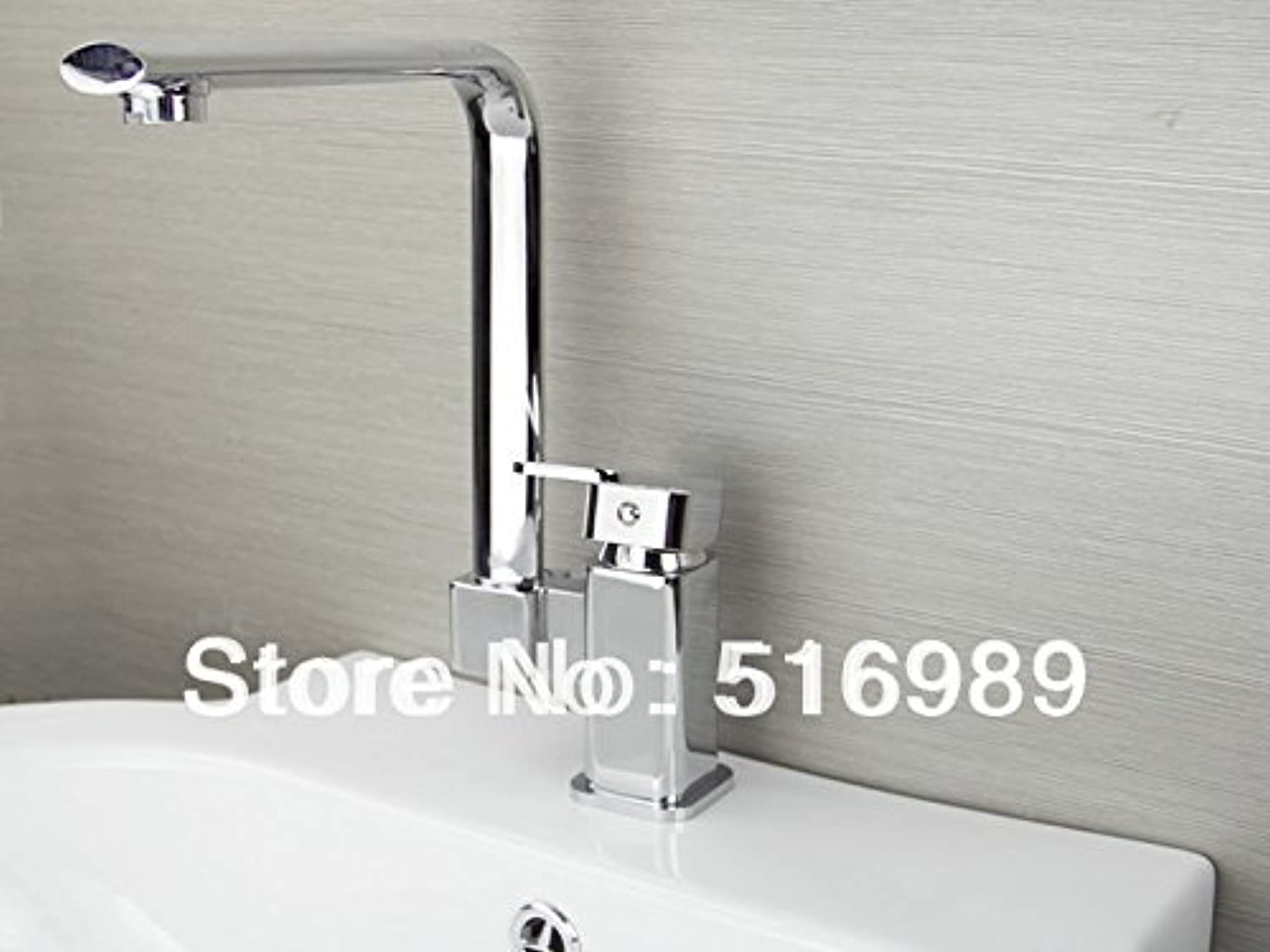 U-Enjoy Brass Single Handle Top Quality Folding Kitchen Faucet Swivel Home Bathroom Kitchen Sink Hot & Cold Water (Free Shipping)