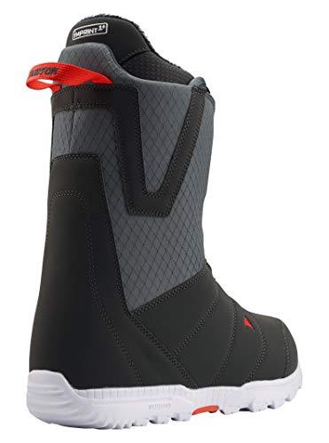 Burton(バートン)スノーボードブーツメンズMOTOBOA-WIDEFIT2019-20年モデル9.5GRAY/RED21425100081