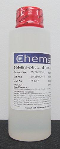 2-Methyl-2-butanol, 97.5+%, 100ml