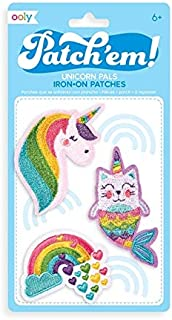 OOLY, Patch 'em Iron-on Patches: Unicorn Pals - Set of 3