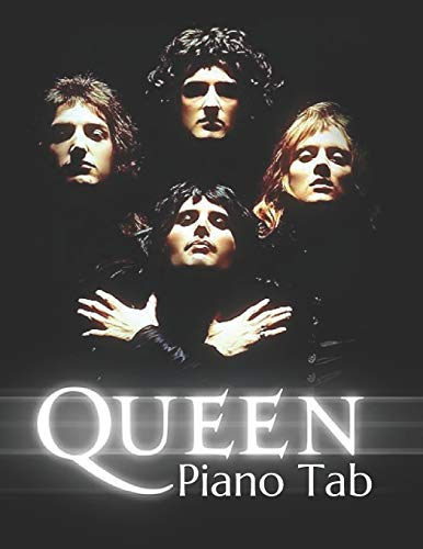 Queen Piano Tab: With Note Letters & Fingering Numbers