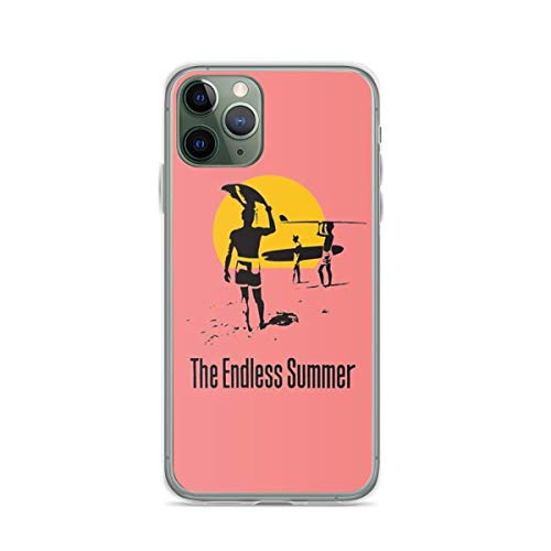 Compatible con iPhone 12/12 Pro MAX 12 Mini 11 Pro MAX SE X XS MAX XR 8 7 6 6s Plus Funda-Endless Summer 1966 Surf Sport Documentary Fundas de teléfono Pure Clear con protección a Prueba de Golpes