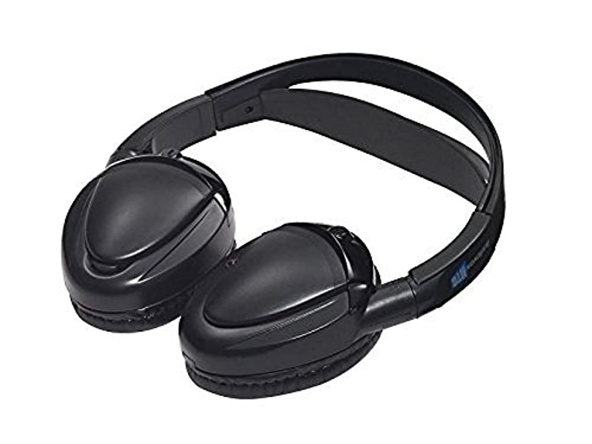 ウォルターカニンガム送料鋸歯状Audiovox MTGHP2CA Dual Channel Wireless Fold Flat Headphones Auto Shut Off