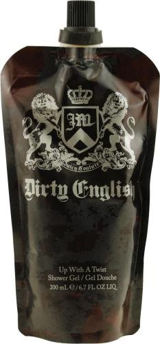 Juicy Couture Dirty English For Men Up With a Twist Shower Gel 200ml