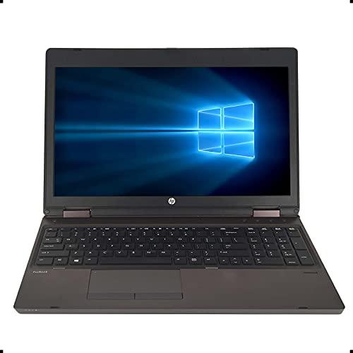 HP ProBook 6570b Notebook PC - Intel Core i5-3320M 2.5Ghz 8GB 128SSD DVDRW Windows 10 Professional (Renewed)