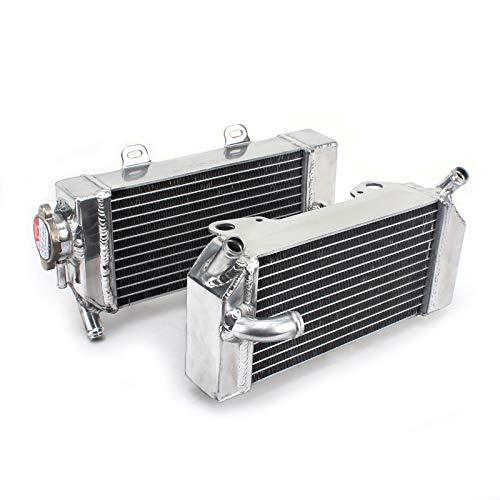 TARAZON Moto Radiador Enfriamiento de Aluminio para H.o.n.d.a CRF 250 R X 2004 2005 2006 2007 2008 2009, refrigeración del motor