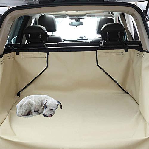Bolsa de Perro Amarillo Protector Perro Coche Amazon Basics para Coches, Camiones y SUV