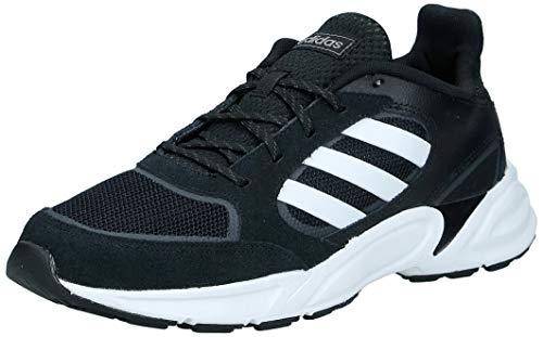 adidas Performance 90s Valasion Laufschuh Herren schwarz/weiß, 10 UK - 44 2/3 EU - 10.5 US