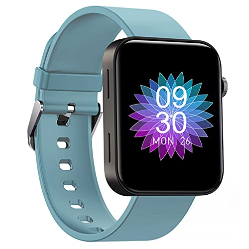 Smartwatch 1.54-Zoll Sportuhr - HAOQIN Fitness Tracker für Damen Herren Kinder mit IPS-Touchscreen Herzfrequenz und Schlaftracking Wasserdicht Kompatibel mit Android IOS