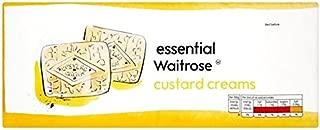 Custard Creams essential Waitrose 400g (Pack of 4)