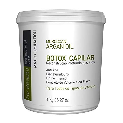 Botox Capilar For Beauty com Argan Oil 1kg (Sem Formol)