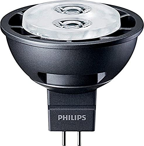 Philips Master Ledspot Lv 4,5 W : comme clair 20 W/827 (Blanc chaud) GU5,3 24 non dimmable 12 V réflecteur 50 mm 40,000 H 72236600