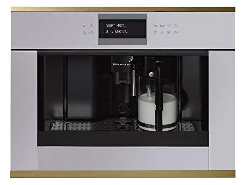 Küppersbusch CKV 6550.0 G4 K-Series. 5 Einbau-Espresso-/Kaffeevollautomat Grau/Gold