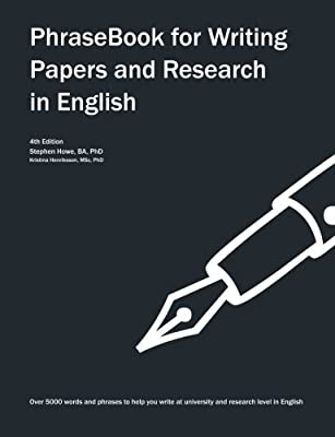 PhraseBook for Writing Papers and Research in English from CreateSpace Independent Publishing Platform
