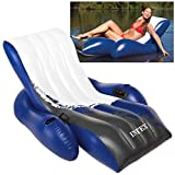 "Intex Floating Recliner Inflatable Lounge, 71"" X 53"""
