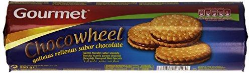 Gourmet Chocowheel Galletas Rellenas con Sabor a Chocolate