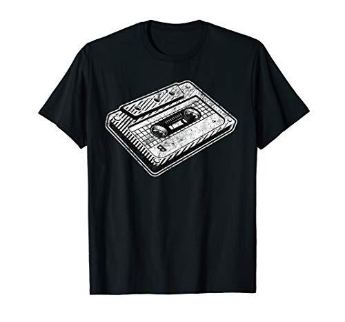 90er Party Outfit Kassette Retro Vintage 80er Jahre Disco T-Shirt
