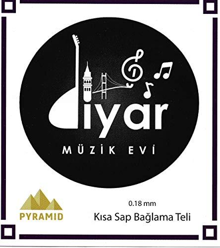 PYRAMID Tel/Saiten - Saz Baglama 0,18 Kisa Sap/Kurzhals