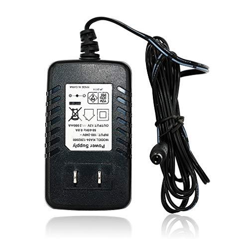 TMEZON DC12V 2A 防犯カメラ用 電源アダプター 1.2m(PSE認証)