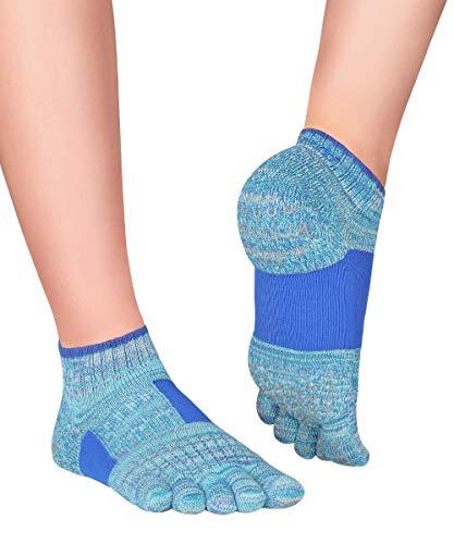 Knitido Plus Umi Calcetines Antideslizantes con Soporte del Arco, Talla:39-42, Color:azul real (77)