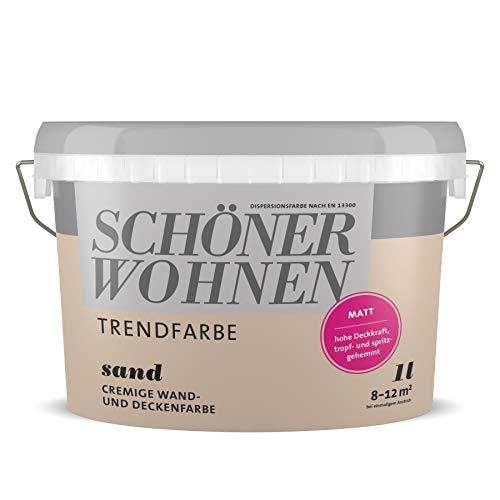 Schöner Wohnen Trendfarben- Sand matt -1 l