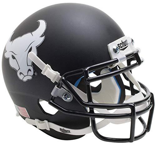 NCAA Buffalo Bulls Mini Authentic XP Football Helm, Matt Black Alt. 4, Mini