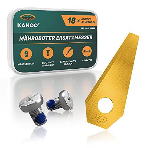 kanoo® Mähroboter Messer, 18x Titan...