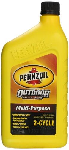 Pennzoil (550035261-6PK) Premium OutboardandMulti-Purpose 2-Cycle Engine Oil - 1 Quart, (Pack of 6)