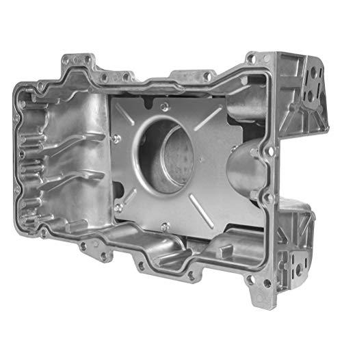 OCPTY 264-028 Engine Oil Pan Steel Assembly Fits 98-07 L4 2.5L V6 3.0L Cummins Diesel Ford Mazda Mercury Pickup Truck compatible