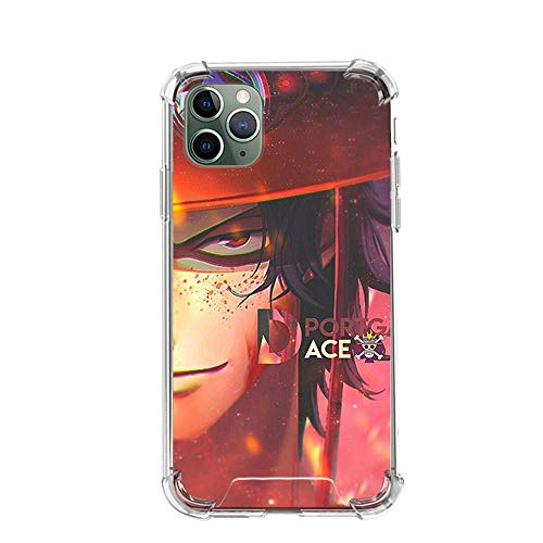Tznzxm One Piece Roronoa Zoro Funda iPhone Airbag Anti-Fall Clear Soft Phone Cover Color_12 For Funda iPhone 6 Plus/Funda iPhone 6S Plus Cases