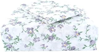 Laura Ashley Sheet Set, Taylor Lilac Collection, Queen