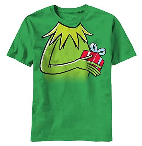 VJSDIUD Camiseta de Regalo Kermit de The Muppets para Hombre