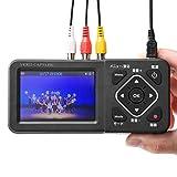 サンワダイレクト ビデオキャプチャー デジタル保存 PC不要 USB/SD/HDD 保存 HDMIでテレビ出力 モニター付き 400-MEDI029