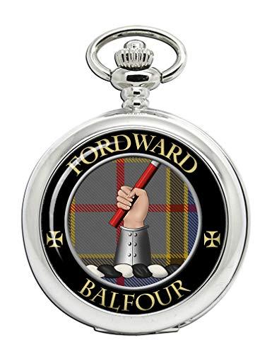 Family Crests Balfour-Scottish Clan Crest Taschenuhr