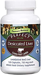 Perfect Perfect Desiccated Liver - 120 capsules (Pack of 5)