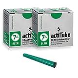 actiTube Slim Aktivkohlefilter 7,1mm (2x50) Weltneuheit! Aktivkohle Filter